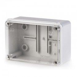 Разклонителна кутия 120x80x50mm IP56 с прозр.капак