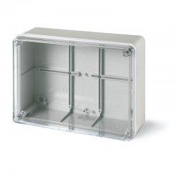 Разклонителна кутия 190x140x70mm IP56 с прозр.капак