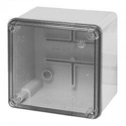 Разклонителна кутия 100x100x80mm IP56 с прозр.капак