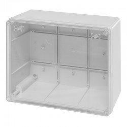 Разклонителна кутия 240x190x125mm IP56 с прозр.капак