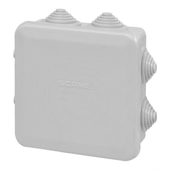 Разклонителна кутия 80x80x40mm IP55