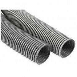 PVC гофрирана тръба сив 750N Ф16външно без теглич
