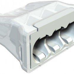 Щек клема за бърза връзка 3 x 0.5 mm² до 2.5 mm²