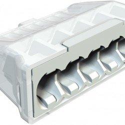 Щек клема за бърза връзка 5 x 0.5 mm² до 2.5 mm²