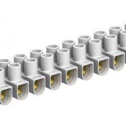 Лустер клема 4mm², бяла