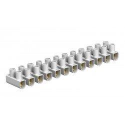 Лустер клема 10mm², бяла