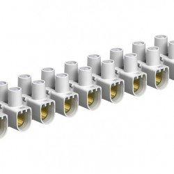 Лустер клема 16mm², бяла