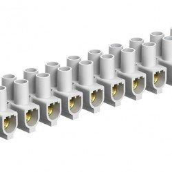 Лустер клема 25mm², бяла