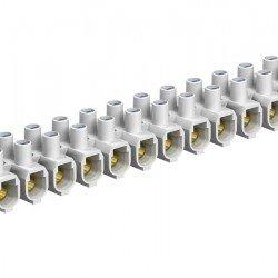 Лустер клема 35mm², бяла