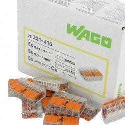 Клема 5-проводна 0,2 … 4 mm² WAGO