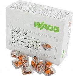 Клема 2-проводна 0,2 … 4 mm² WAGO