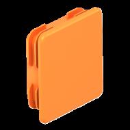 Краен елемент за профилна шина MS