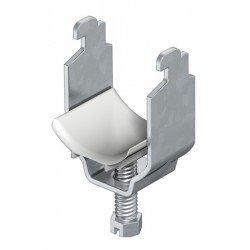 BBS скоба за шлиц 11 - 12, с пластмасова притискаща пластина 13 - 22 mm