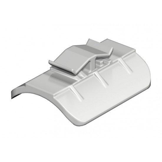 Насрещна пластина 52 - 58 mm пластмасова