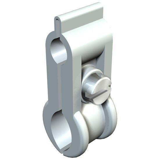 Скоба носеща за стоманено въже 5 - 10 mm