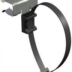 Трегер клема за набиване 14 - 20 mm с кабелна връзка 240 mm