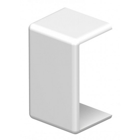 Елемент за надлъжно съединяване 20х10 бял