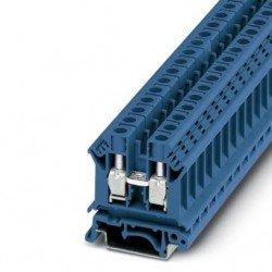 Клема редова 10 mm² синя - 2връзки
