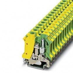 ема редова 10 mm² жълто - зелена - 2връзки