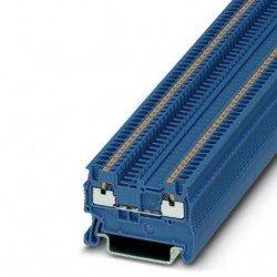 Клема редова 1,5 mm² синя - 2връзки