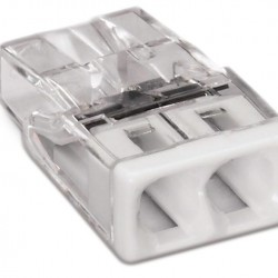 Клема 2 проводна  0,5 - 2,5 мм² WAGO
