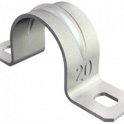 Закрепваща, двойна скоба 18 mm