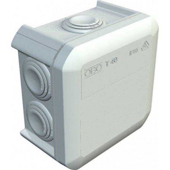 Kутия разклонителна тип T40, сива