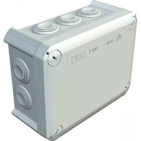 Kутия разклонителна тип T100, сива