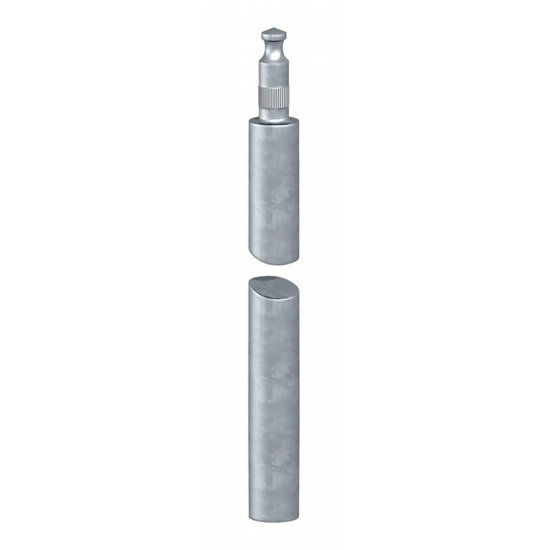 Кол заземителен от неръждаема стомана 1.5 m