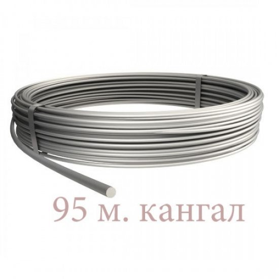 Проводник кръгъл, плътен Ø10, алуминий