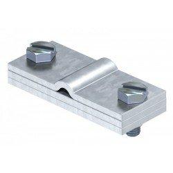 Заземителна скоба за кръгли и плоски проводници