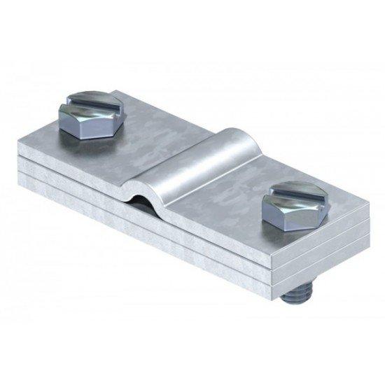 Скоба заземителна за кръгли и плоски проводници