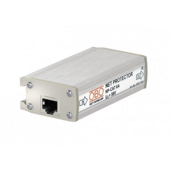 Защита от пренапрежение на високоскоростни мрежи до 10 Gbit, 41V AC / 58V DC, 8P