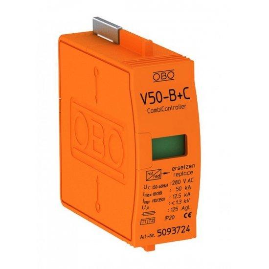 Горна част за аресторна защита тип 1+2, 230 V