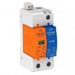 Защита аресторна тип 1+2, 1P+NPE, 230 V, 7 - 14 kA, дистанционна сигнализация