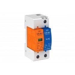 Аресторна защита тип 1+2, 1P+NPE Un = 230 V, I imp  7 - 14 kA