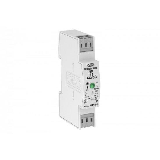 Защита MSR за двуполюсно електрозахранване 12 V