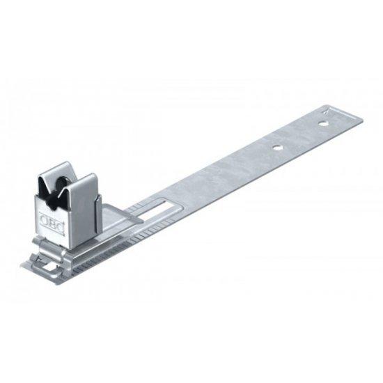 Държач покривен за проводник при покриви с шиферни плочи, Rd 8, A2, стомана