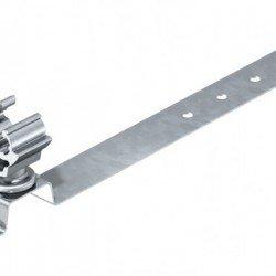 Държач за проводник RD - 8 - 10 за покриви с керемиди 230 mm, стомана и полиамид