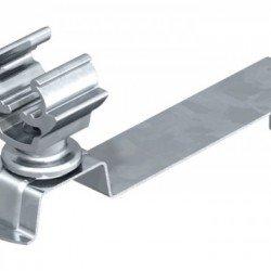 Държач за проводник RD - 8 - 10 за покриви с керемиди, огънат, стомана и полиамид