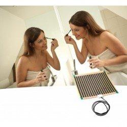 DEVIfoil Mirror, нагревателно фолио с вградени нагреватели и кабели, 17.5 W 230 V