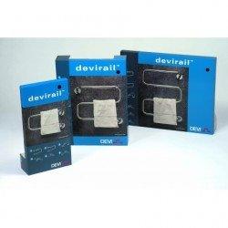 DEVIrail™H20C, 20 W, електрическа сушилня за кърпи, хром, U - образна