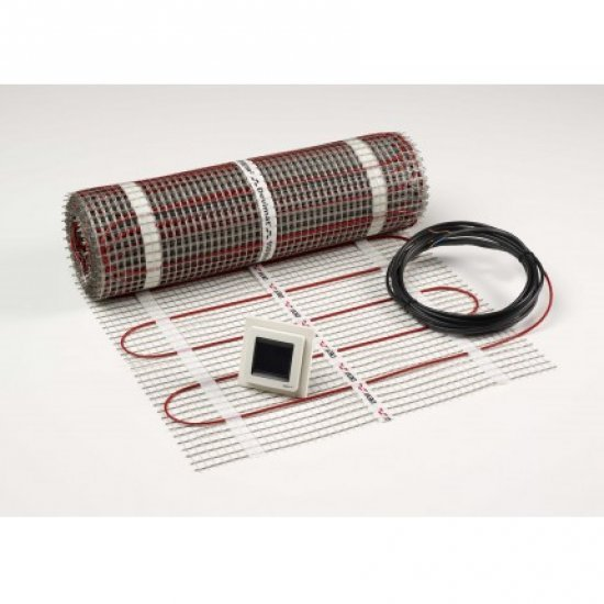 Комплект DEVIcomfort 150 T, нагревателна рогозка, + DEVIreg Touch, 7 m