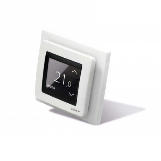 DEVIreg Touch, терморегулатор, бял