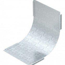 Капак за вертикален ъгъл 90 градуса, възходящ 100 mm, DBVS