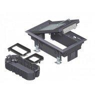 Комплект подова кутия GES 2 за вграждане на 3 инсталационни елементи от Модул 45