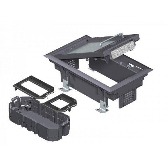 Комплект подова кутия GES 2 за вграждане на 3 инст. елементи от Модул 45