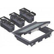Комплект подова кутия за вграждане на инст. елементи - 9, модул 45, универсална