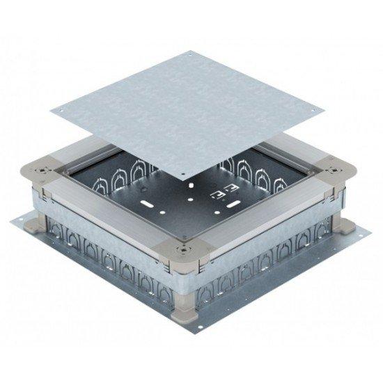 Метална подподова кутия за шаблонна височина на замазка 70 / 125
