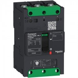 Прекъсвач автоматичен NSXm 100A TM63D 3P3D 70kA клеми за каб. накрайници/шини